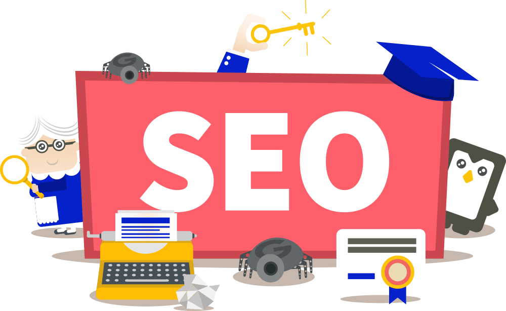 Learn SEO transparent picture